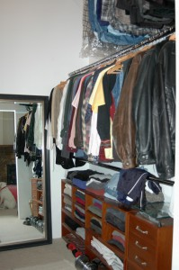 Right half of Master Closet